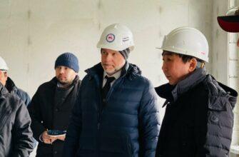 Кирилл Бычков проинспектировал строительство кардиологического диспансера
