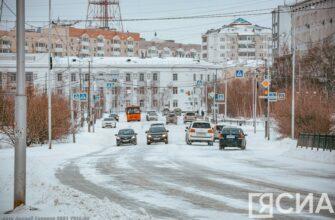 Облачно, дождь, снег и потепление. Погода на неделю в Якутске