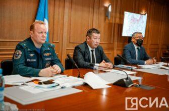 По противопаводковым мероприятиям на реках Якутии зачернено более 180 гектаров льда