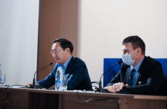 Айсен Николаев обсудил с коллективом Нерюнгринской ГРЭС перспективы развития инфраструктуры