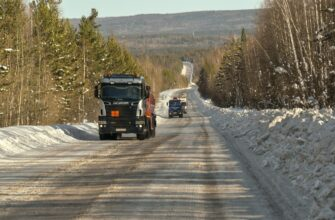 В Якутии снижают грузоподъемность на автозимниках