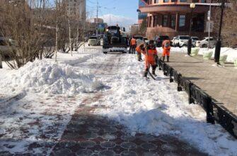 За три дня в Якутске вывезли рекордное количество снега