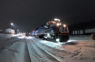 «Железные дороги Якутии» испытывают американский тепловоз