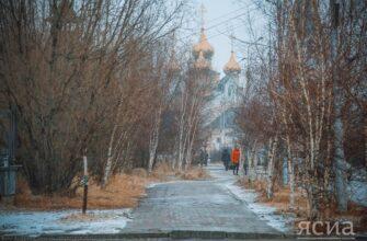 Ветер и небольшой снег. Прогноз погоды на среду в Якутии