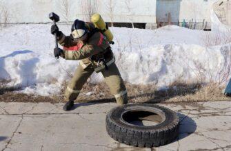 Пожарные и спасатели посвятили чемпионат по силовому многоборью Дню пожарной охраны