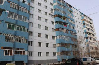 В Якутске начали применять энергоэффективное бескаркасное утепление фасадов домов