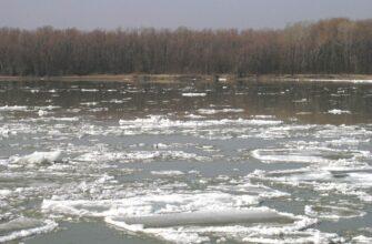 Вскрытие реки Лены в Иркутской области ожидается 26 апреля