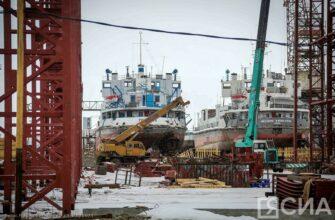 Работы по новому графику строительства Жатайской судоверфи идут с небольшим опережением