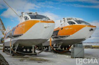 Между Якутском и Олекминском будут курсировать скоростные суда на подводных крыльях «Валдай-45»
