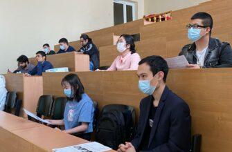 """Иностранные студенты СВФУ приняли участие в акции """"Тотальный диктант-2021"""""""