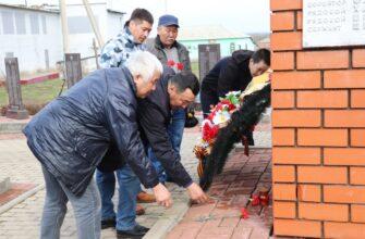 Имена амгинских солдат увековечат в Белгородской области