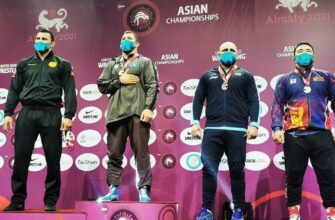 Борец Айаал Лазарев стал серебряным призером чемпионата Азии