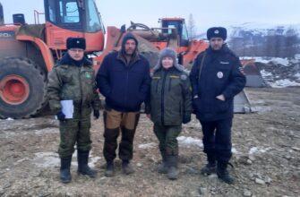 Экологи и полиция проводят рейды на территории Верхнеколымского района Якутии