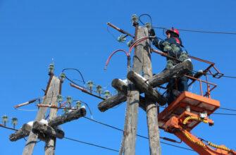 График ремонтных работ энергетиков в Хангаласском районе Якутии