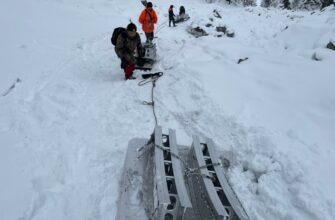В Якутии спасатели эвакуировали фрагменты ракеты-носителя