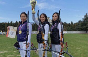 Якутские лучницы впервые завоевали золото в команде на чемпионате России
