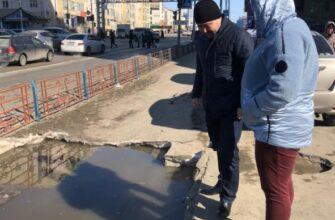 В Якутске оперативно устранили аварийную ситуацию