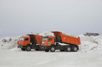 Несанкционированное размещение снежных свалок в Якутске запрещено