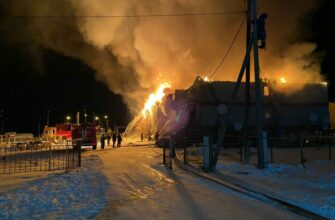 Родным погибших и пострадавшим при пожаре в якутском селе направят около 2,5 млн рублей