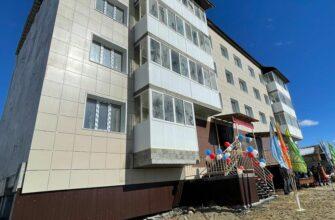 В селе Амга в Якутии 26 семей стали новоселами