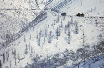 "По автодороге ""Яна"" в Якутии запрещено движение"