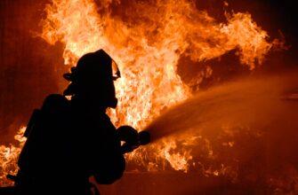В селе Суола в Якутии произошел пожар в частном жилом доме