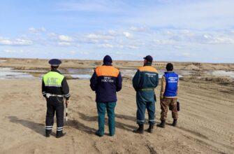 В Якутии проводятся проверки по недопущению выезда автотранспорта на лед