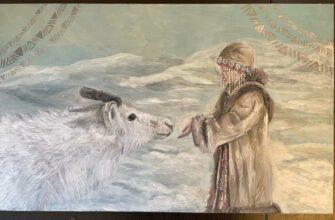 """""""Кындыкан"""" представил две картины в креативном проекте AYARKUT Yakutia"""