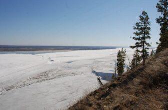 Вскрытие реки Лена на участке Витим ожидается с 7 - 11 мая