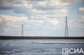ВИДЕО. В Якутске из под льда спасли девушку