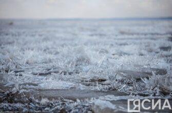 Возле Якутска наблюдается густой ледоход