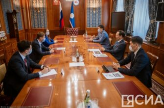 Глава Якутии и вице-президент Фонда «Сколково» обсудили перспективы сотрудничества