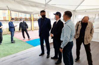 Сергей Местников проверил готовность объектов Игр Манчаары