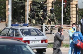 В результате стрельбы в школе в Казани пострадали 32 человека