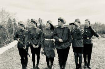 В Якутии учащиеся школы-интерната сняли видеоклип по мотивам повести «А зори здесь тихие..»