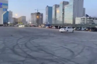 На Комсомольской площади применят меры против дрифтеров