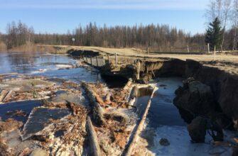 В Якутии прекращено движение на  участке автомобильной дороги регионального значения «Кобяй»