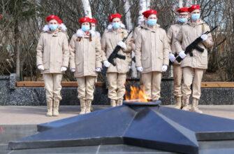 Акция «Вахта памяти» прошла в Мирнинском районе