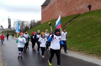В Новгородской области стартовал пробег памяти воинов-якутян вокруг озера Ильмень