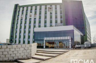"""""""Отставания по графику нет"""". Строительство кардио-сосудистого центра в Якутии завершено на 70%"""