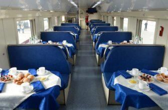 РЖД планируют изменить тип питания в вагонах-ресторанах