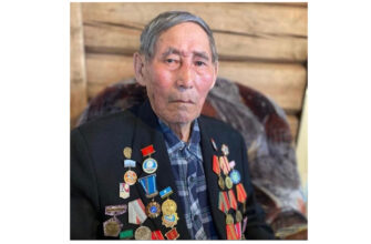 В Якутии ветерану Отечественной войны Егору Филатову исполнилось 95 лет