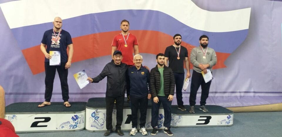 Борцы АГАТУ завоевали медали на чемпионате России среди студентов
