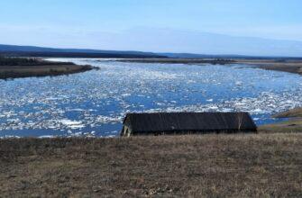 Активная фаза ледохода на реке Лене проходит по территории Якутии