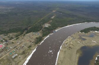 Ледоход в Якутии активно проходит на территории Ленского и Олекминского районов