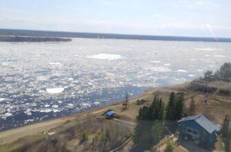 Ледоход проходит на территории трех районов Якутии