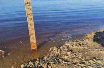 На северных реках Якутии наблюдается подъем уровня воды