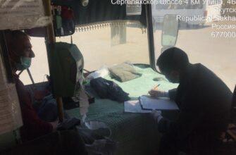 Административная комиссия Якутска проверяет санитарное состояние автобусов