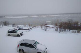 Фотофакт: В село Оленек вернулась зима