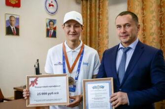 Дмитрий Бердников встретился с Николаем Жирковым, который вошел в тройку лучших монтажников России